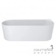 Ванна из литого мрамора Miraggio Mirasoft Bali 170x75 белая матовая