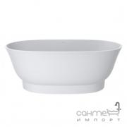 Ванна из литого мрамора Miraggio Mirasoft Providence 170x70 белая матовая