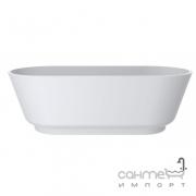 Ванна из литого мрамора Miraggio Mirasoft Siena 180x80 белая матовая