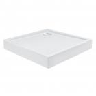 Квадратный душевой поддон с сифоном Qtap Tern TERN308812C белый