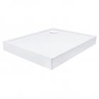 Прямоугольный душевой поддон с сифоном Qtap Tern TERN301812W белый