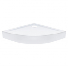 Полукруглый душевой поддон с сифоном Qtap Robin ROBIN309912W белый