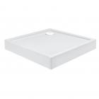 Квадратный душевой поддон с сифоном Qtap Tern TERN308812W белый