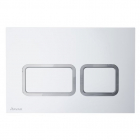 Панель смыва Ravak Twin WC X01739 сатин