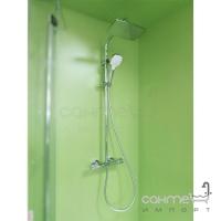 Душевая стойка с термостатом Hansgrohe My Select Showerpipe 240 26764400 белый/хром